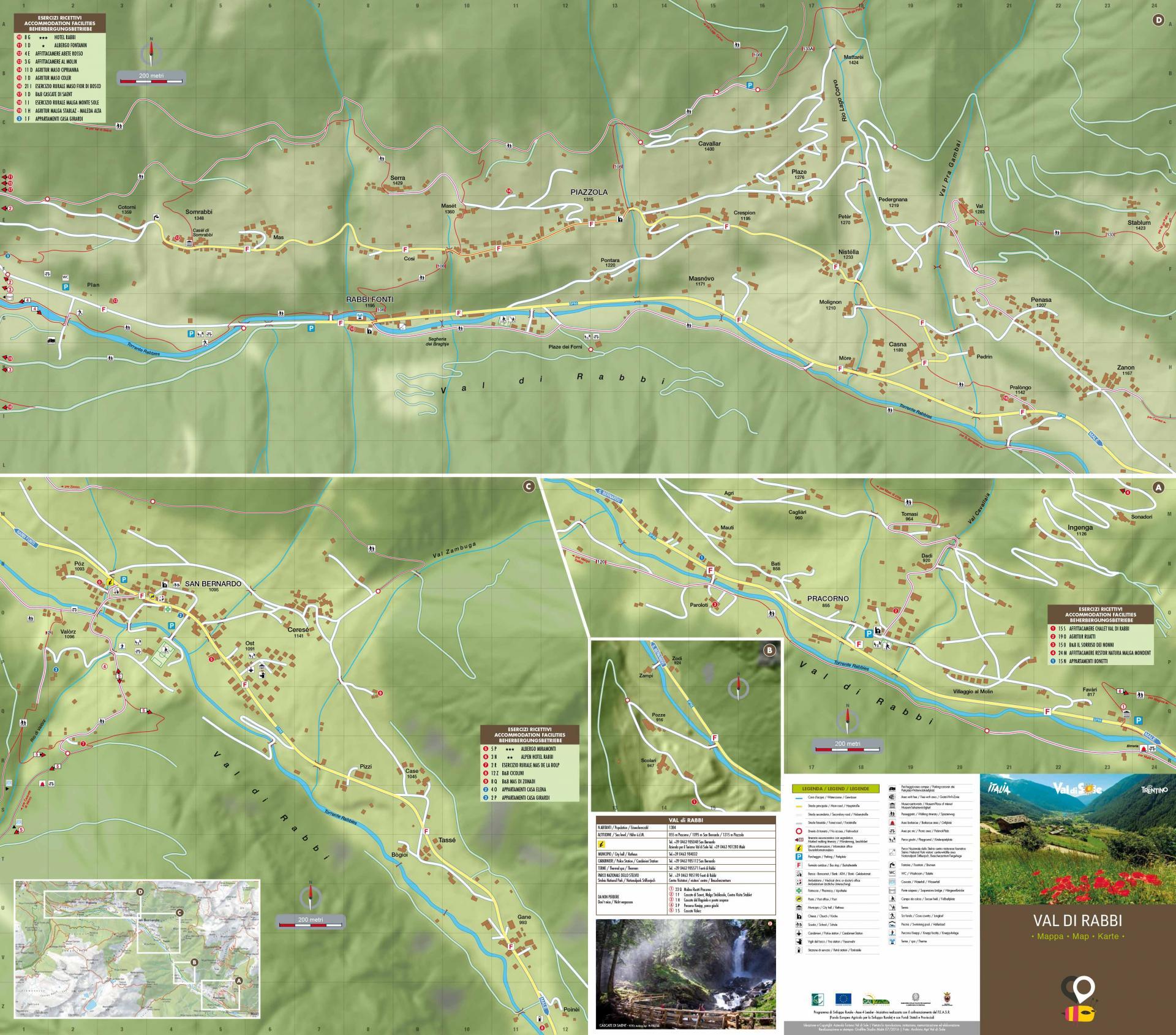 Bardonecchia Cartina Geografica.Mappa Valle Del Chiese Scarica